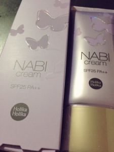 Review: Holika Holika NABI Cream Purple SPF25 PA++