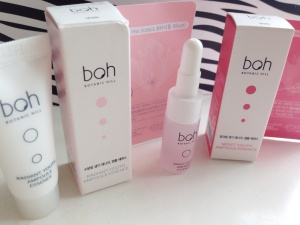 Botanic Hill ( Boh ) Youth Ampoule Essences review & Olive Young