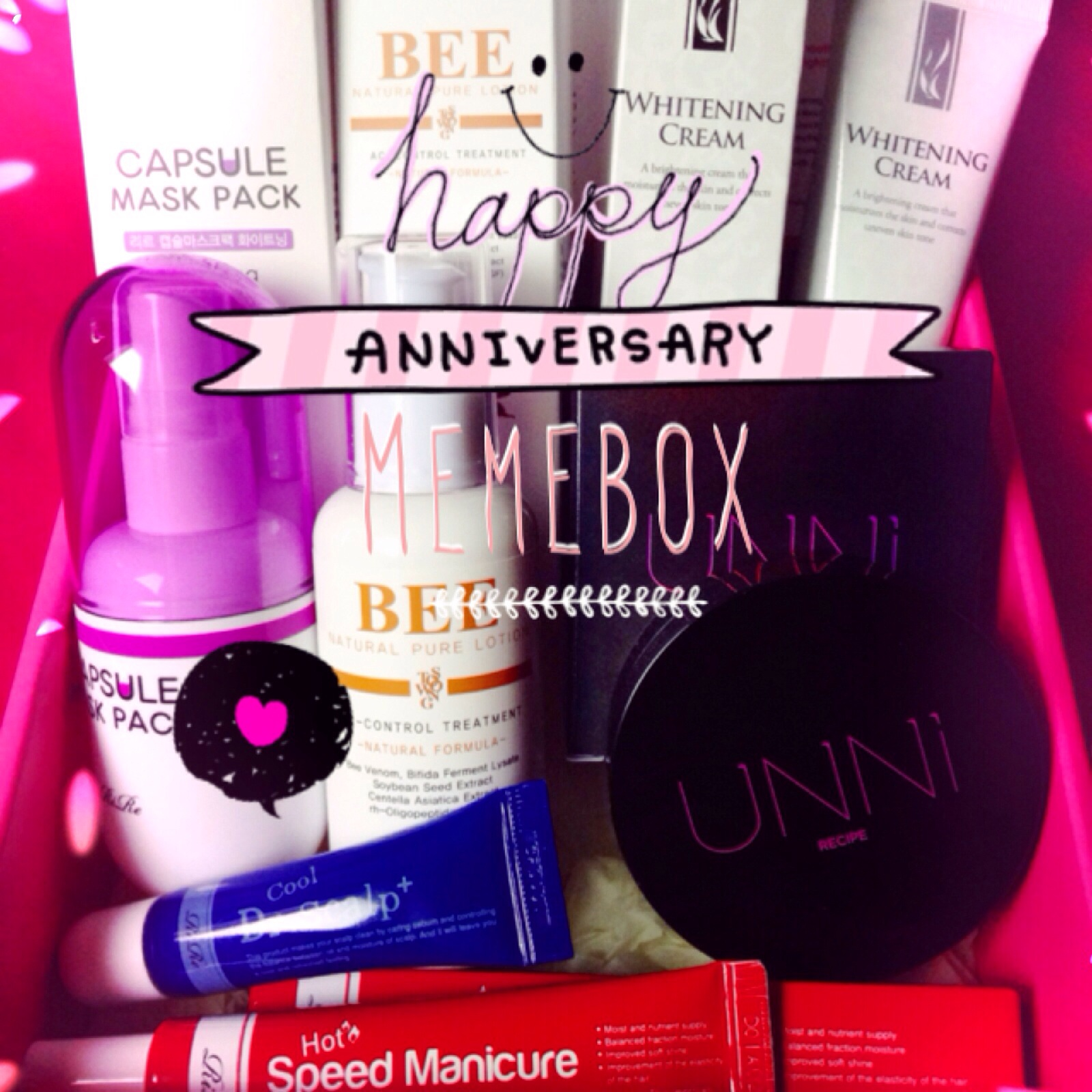 Memebox st anniversary box unboxing review