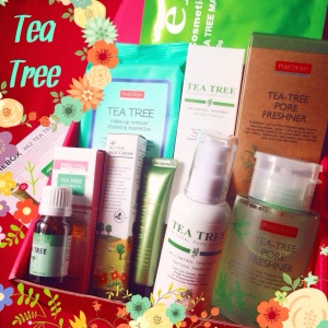 ✾ Memebox Tea Tree Cosmetics Box ✾