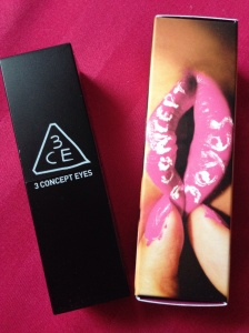 3CE Stylenanda Lip Color in #602 V review