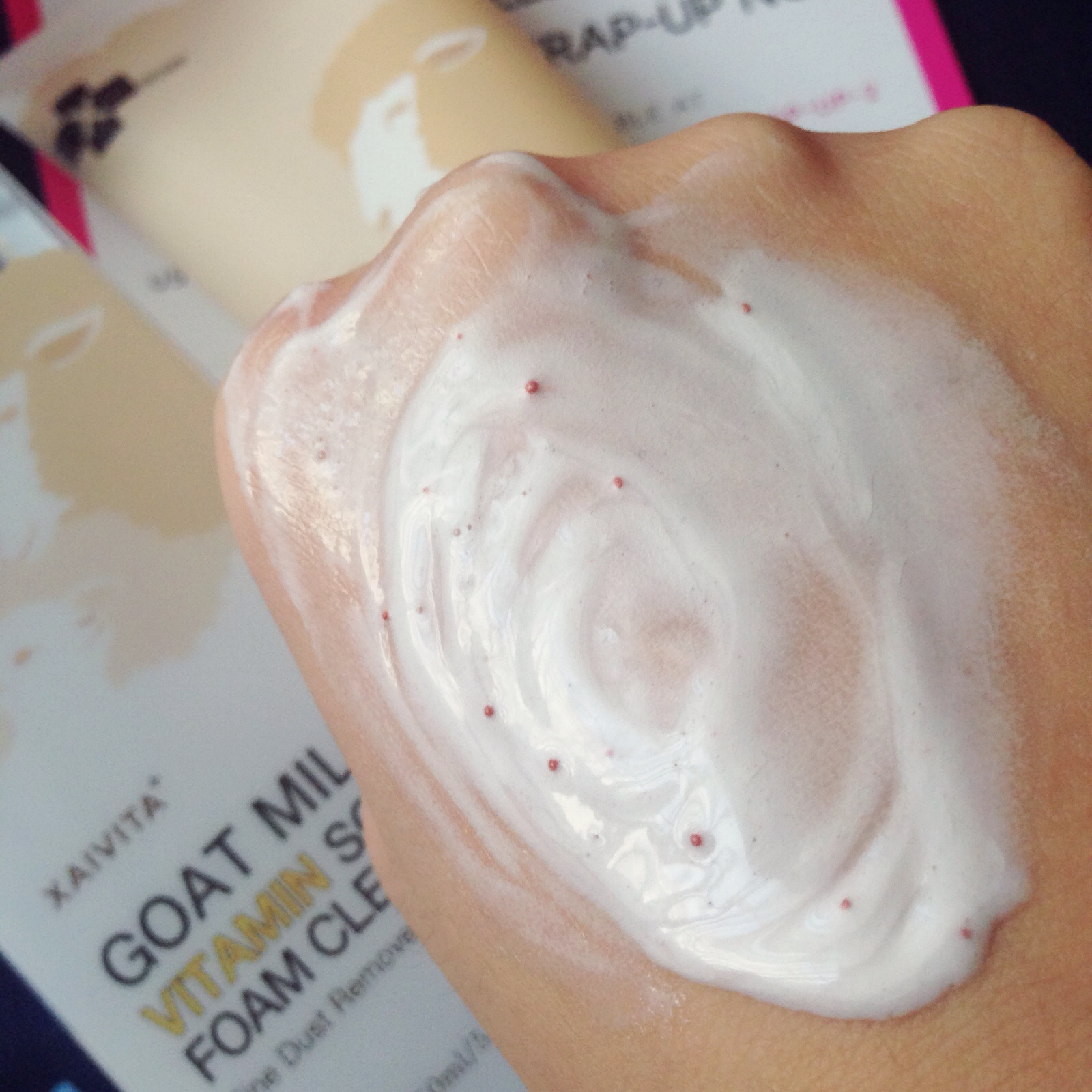All natural facial cleanser no soy