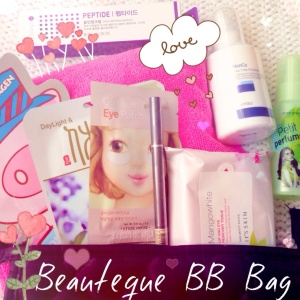 Beauteque Sweethearts February BB Bag review