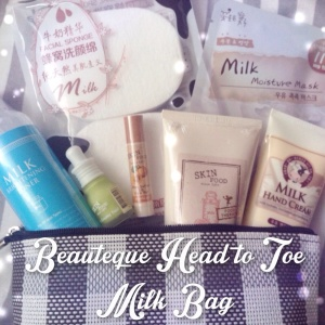 Beauteque Head to Toe Milk Bag review