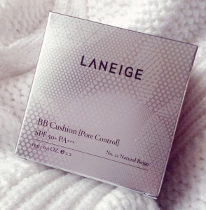 Laneige BB Cushion (Pore Control) SPF50 PA+++ [No.21 Natural Beige] Review